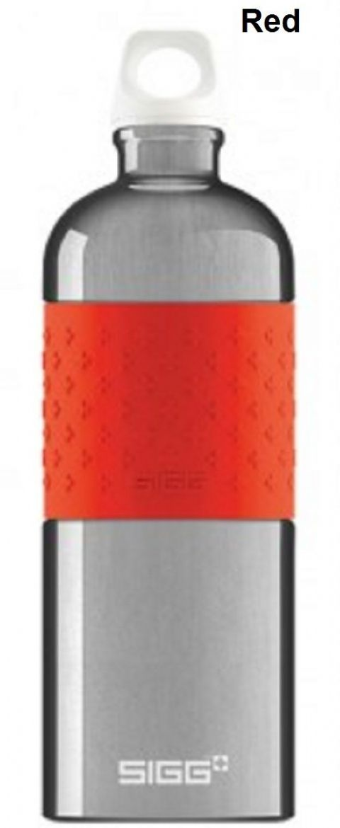 Sigg CYD Alu Bottle -  1 LItre, Red